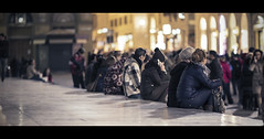 Florence at night (Orione59) Tags: street people italy canon photography florence bokeh candid streetphotography tuscany cinematic ef135mmf20 5dmk3 orione1959 orionephotographer