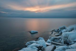Leslie Spit Sunrise, Toronto