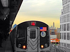 Queensboro Plaza Station In Long Island City, New York (lelobnu) Tags: nyc newyorkcity station train queens lic colorsplash streamzoo dreamerstreamers