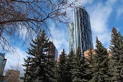 Olympic Plaza downtown Calgary (davebloggs007) Tags: plaza building calgary ice skating bow olympic