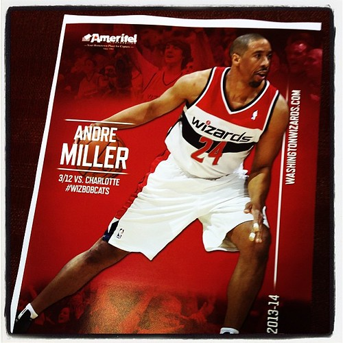 #Wizards Game Night: #MillerTime vs the #Bobcats with playoff implications. Go figure.