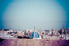 Valencia (un(a)ware) Tags: sky valencia landscape nikon 85mm viaggio 2014 fallas italianinelmondo simoneridi