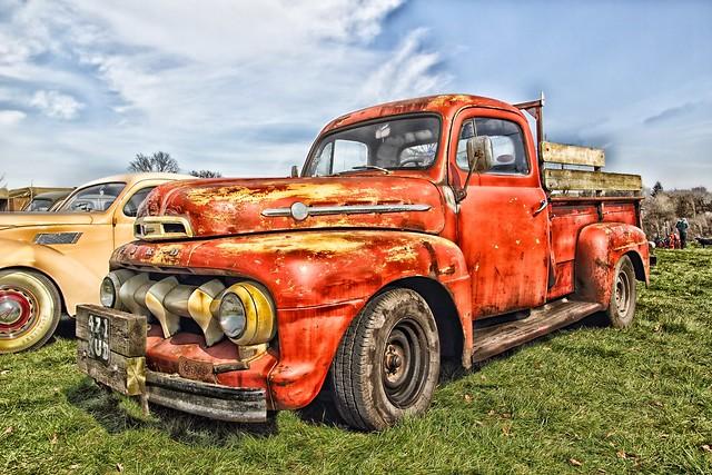 ford truck pickup f2 1952 fordf2