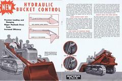 Bucyrus Erie Dozer Shovel c1950 (Runabout63) Tags: machinery erie loader brochure bulldozer earthmoving bucyrus