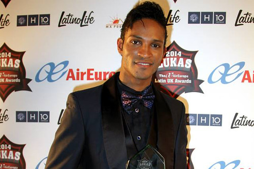 Fernando Montaño wins Latin Personality of the Year 2014