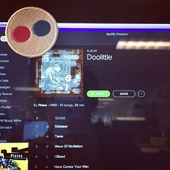 Pixies X Flickr = good curation (cc: @spotify @flickr) (Liz Lapp) Tags: square squareformat hudson iphoneography instagramapp uploaded:by=instagram foursquare:venue=4b144582f964a5204aa023e3