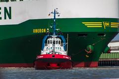 Tugboat; Schlepper (Thragor) Tags: deutschland ship tugboat schiff nordenham schlepper niedersachsen