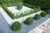 (deanmackayphoto) Tags: yard garden tile square landscape design losangeles gate topiary path walk entrance diamond walkway hedge drought shrub westhollywood gravel boxwood landscapedesign droughtresistant larisacode