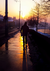 walking (black one7) Tags: street sunset shadow sun silhouette walking samsung galaxy s4