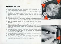 Kodak Retina Automatic III - Instructions for use - Page8 (TempusVolat) Tags: film 35mm vintage for mr kodak iii automatic use instructions guide gareth retina tempus morodo volat mrmorodo garethwonfor tempusvolat