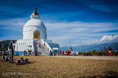 Day 6, Peace Pagoda (14) (KLMP) Tags: city nepal lake mountains boats temple pokhara fewa phewa annapurna peacepagoda