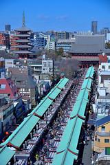 Asakusa011 (Kosei.S) Tags: street city people japan temple sensoji japanese tokyo nikon asia cityscape asakusa d800 nakamise