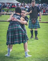 Backhold Wrestling at Bute Highland Games (FotoFling Scotland) Tags: kilt wrestling event wrestlers bute rothesay georgereid butehighlandgames scottishbackholdwrestling backhold scottishwrestlingbond gurvansalaun