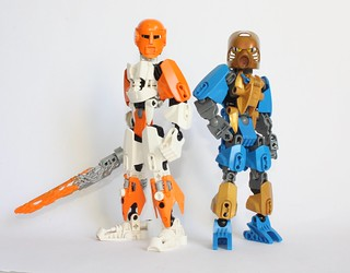 Tablescraps: Two little Toa