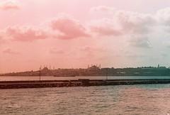 Kadky Silet (ersingurses) Tags: sunset analog istanbul zenit et vapur seagul topkap helios boaz ayasofya haydarpaa kadky 44m tudorcolor filmlovers eskibirfotoraf jokersin
