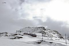 Gornergrat Railway (A. Wee) Tags: mountain alps train switzerland skiresort zermatt    gornergratbahn
