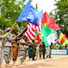 Western Accord 2016 participants closeout exercise at Camp Zagre