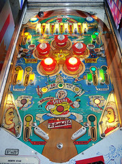 North Star (scottamus) Tags: game art table design artwork graphics arcade machine pinball 1964 northstar gottlieb playfield