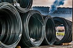 Loading zone (ericbaygon) Tags: plant nikon iron factory belgium belgique belgie riva steel hdr usine rolled charleroi marcinelle metallurgy metallurgie nikonpassion d300s thymarcinelle