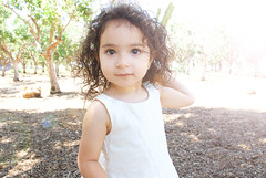 Gianna_0030 (Ciara*) Tags: girl kid toddler smiles cutie niece sunflower