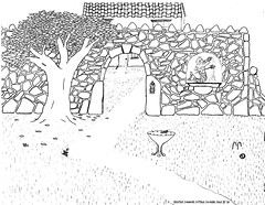 Cottage_Coloring_Page_by_Sid (The Daring Librarian) Tags: england tree book drawing sid cottage page creativecommons coloring croquet makerspace