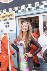 BTCC Thruxton 2016 - RCIB Insurance Racing grid girl Michelle (Sacha Alleyne) Tags: girl umbrella grid promo model babe pit racing blonde toyota hostess promotional circuit barc motorsport dunlop paddock pitlane toca thruxton 2016 britishtouringcarchampionship tintops michellewestby teamhard