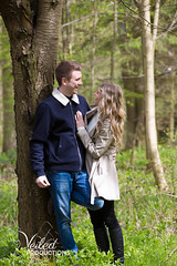 Christina and Dan's Engagement Photoshoot at The Great Barn, Aynho