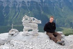20090911_Ryan_in_Banff_0008.jpg (Ryan and Shannon Gutenkunst) Tags: family canada hiking hike alberta banff mountrundle ryangutenkunst