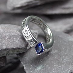Silver Handmade Ring (loxy681) Tags: jewellery ring necklace jewellers wedding engagement eternity