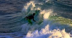 Surfing - Tel-Aviv beach (Lior. L) Tags: sea nature surf wave surfing surfingtelavivbeach
