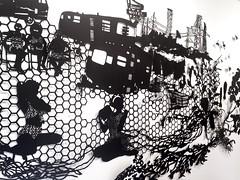 MBosley_AtomicCity (TheWayThingsWere) Tags: silhouette paperart silhouettes papercut papercuts papercutting mollybosley
