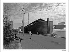 The ark (frode skjold) Tags: bw oslo norway boat norge blackwhite ark bt svarthvitt noasark fujifilmx20
