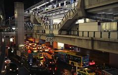 Blade Runner world (Andrzej Olszewski) Tags: bangkok thailand urban metropolis transporation