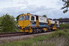 VolkerRail DR77802 (parkgateparker) Tags: volkerrail northanston tracktamper southyorkshirejoint syjnt dr77802