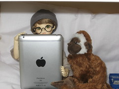 Mapmaking 001 (EmpathicMonkey) Tags: toby ball toys happy monkey photo dolls olive story bjd jointed bluefairy