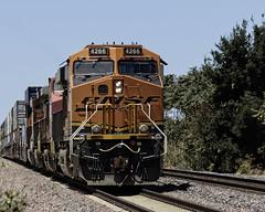 Sidelined (lennycarl08) Tags: california railroad trains bnsf burlingtonnorthernsantafe burlingtonnorthernsantaferailroad stocktonsub holtca