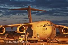 C17A GLOBEMASTER 3 07-7186 USAF (shanairpic) Tags: military usaf c17a 437aw globemaster3 077186