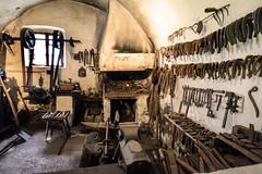 Alte Schmiede (sigi-sunshine) Tags: handicraft fire smith tools horseshoe blacksmith forge feuer schmiede kamin handwerk werkzeug schmied forger hufeisen