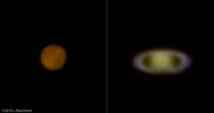 Near Oppositions (eaglekepr) Tags: mars saturn planets sky canoneos7d celestronc102hd1000mmf10