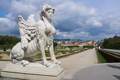 Sfinx - Schloss Belvedere - Het Belvedere - Wenen - Vienna (Rita Willaert) Tags: vienna wien museum oostenrijk belvedere sfinx wenen zomerpaleis oberesbelvedere schlossbelvedere gustaveklimt at unteresbelvedere paleiscomplex eugnedesavoye