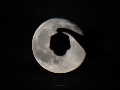 Moon light (Teo Karanikas) Tags: camera moon lamp fullmoon greece thessaloniki moonlight