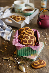 IMG_9770_exp (Helena / Rico sin Azcar) Tags: cookies chocolate palmeras butter vanilla palmier galletas vainilla mantequilla