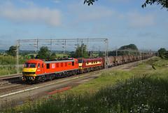 90019 24-06-16 (IanL2) Tags: northamptonshire trains railways multimodal class90 90019 dbschenker