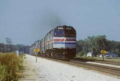 AMT 249 E TR 4 SWC Dean Lake MO 988 (Sneebly) Tags: amtrak southwestchief atsf 90mph train4 transcon