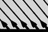 Strings (Puenting) Tags: bridge blackandwhite bw abstract blancoynegro architecture canon puente blackwhite arquitectura monochromatic strings abstracto tirantes talaveradelareina canonefs18200mmf3556is puentedecastillalamancha