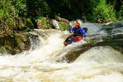 DSCF8335 (Lumire du soir) Tags: canoe correze kayack treignac comptition