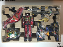 IMG69_1273 (ThanhQuan_95) Tags: dragon tiger legendary warrior mode legacy thunder mega bandai megazord zord tigerzord