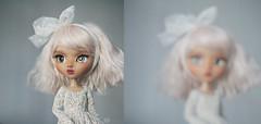 This babe... (KarolinFelix) Tags: pink white doll ooak tan mocha mio pullip kit freckles custom karolinfelix