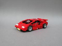 Lamborghini Countach / Sideswipe (MortalSwordsman) Tags: g1 transformers legoformer generation1 legotransformer lego sideswipe lambor legosideswipe legolambor lamborghini