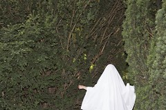 where am I (Stephanie Stonem) Tags: trees portrait rot nature girl forest canon fear ghost vsco